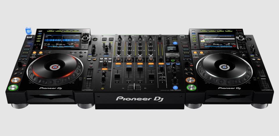 DJ Equipment CDJ Turntable Hire