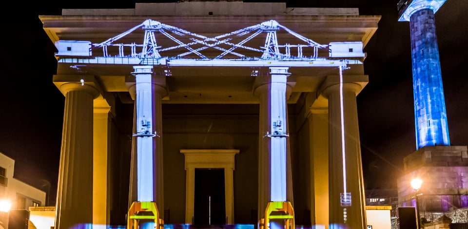 Video as Performance Projection Mapping