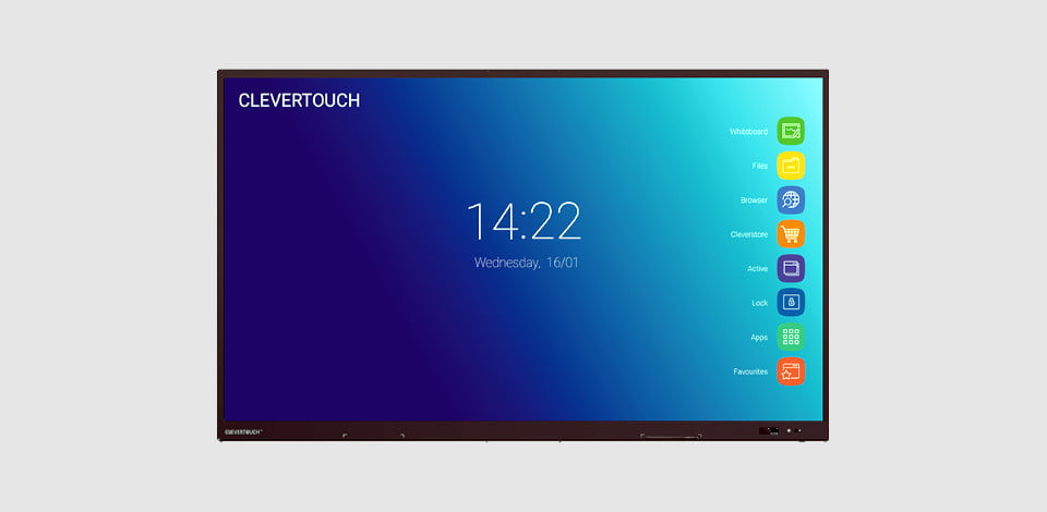 CleverTouch Impact Plus Displays